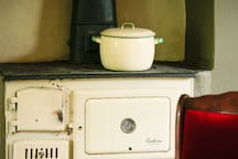Old kitchen oven