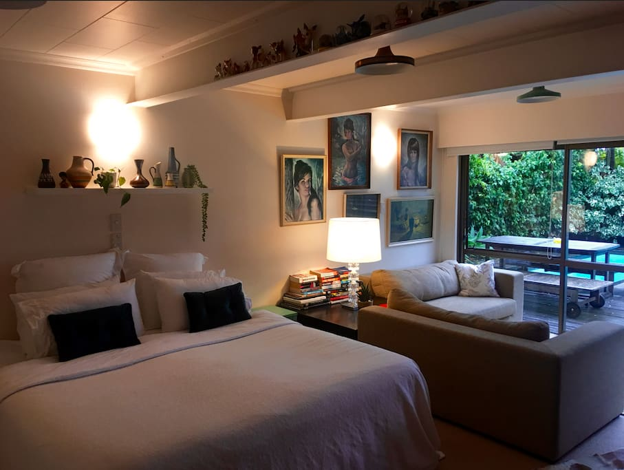 Poolside oasis guest suites for rent in auckland - University of auckland swimming pool ...