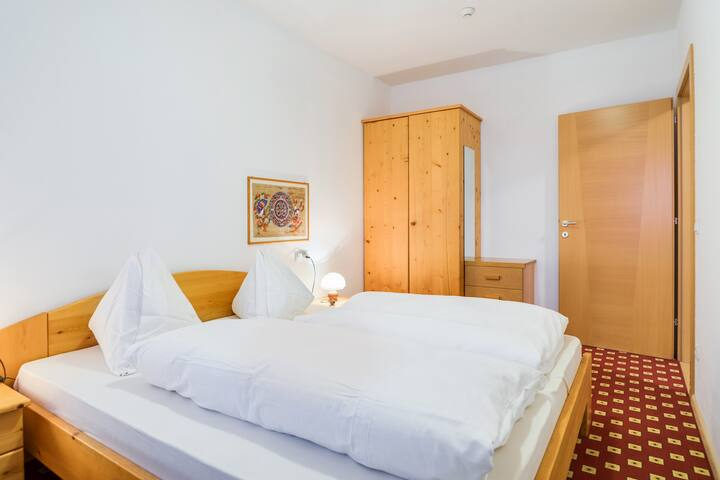 """Charming Holiday Apartment """"Feldhof Wald Weißenhorn 105-4p"""" with Mountain View, Wi-Fi, Terrace, Balcony, Garden & Wellness Area; Parking Available, Pets Allowed"""
