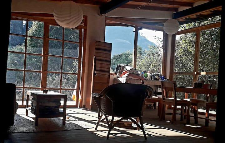 La Libélula, nice space in the mountain