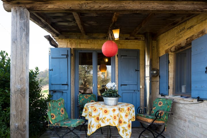 Homely cottage in the countryside - Petritoli - Casa