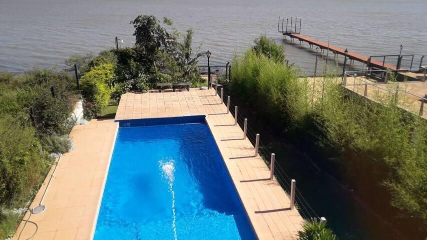 Sonidos del Rio ( casa del Rio)