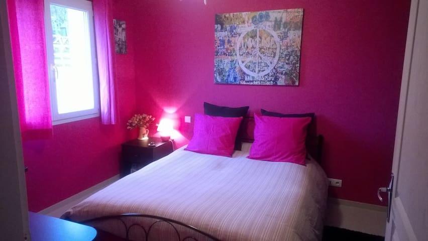 Pink room  - Hauteville-Lompnes - Villa
