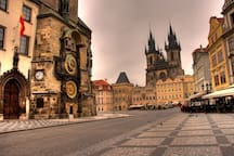 Watch the time on the oldest Astronomical clock in the world in the Old Town Square - only 10 min walk from the apartment