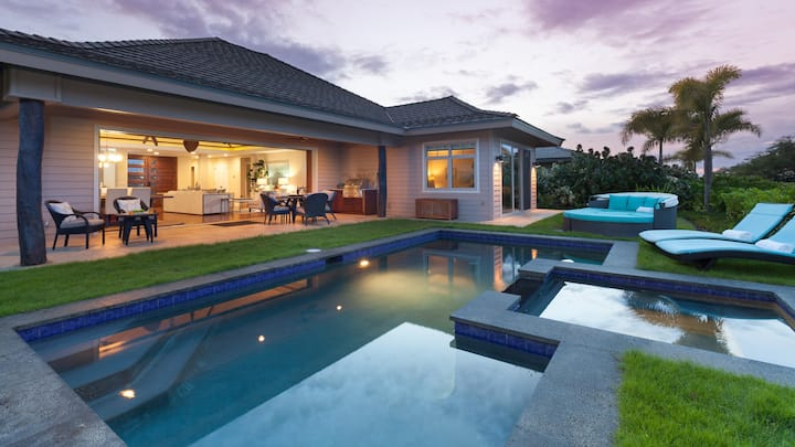 ❤️PiH❤️ Blue Lagoon Villa★Pool&Spa★Private Cottage