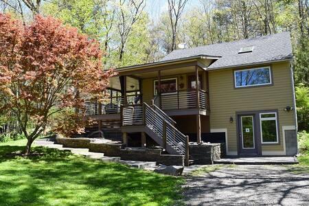 New! Contemporary, Kid-Friendly Catskills Escape - West Hurley - Ház
