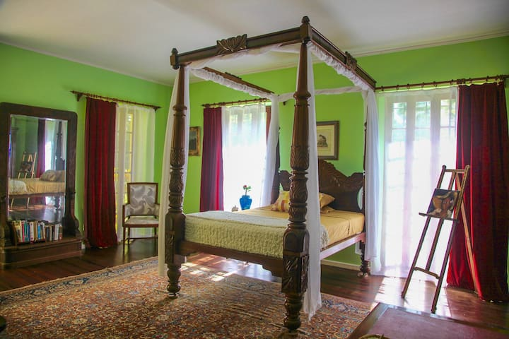 Colleton Great House historic bedroom - BB - Bed & Breakfast
