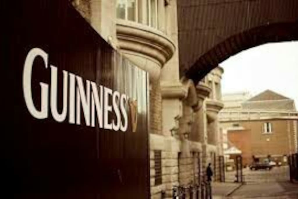 Pop in and do the Guinness tour next door to the apartment.