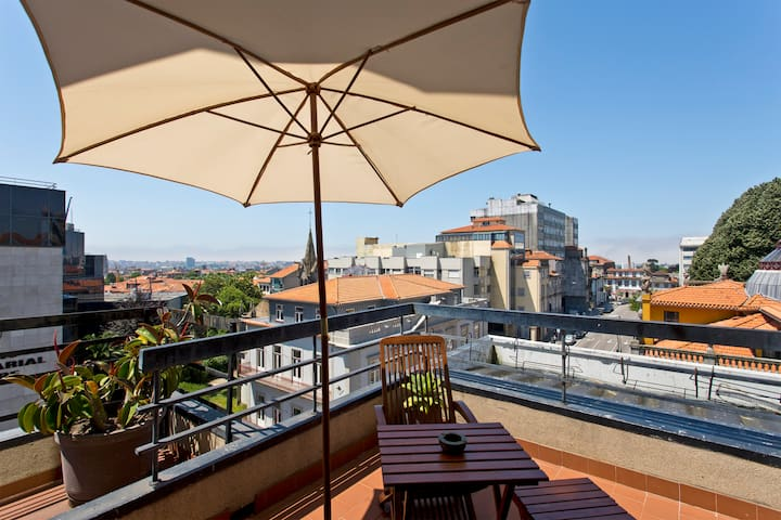 TPC - Balcony over Porto (free parking) - Porto - Byt