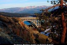 Rainbow bridge on Donner Summit