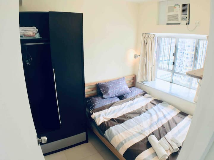 Cozy fully furnished flat in Shatin (近雅思考場)
