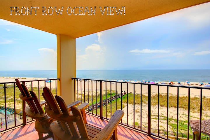 """Sun 'n Sea"" Touch the ocean close, 1BR Bunks/Pool - Orange Beach - Apto. en complejo residencial"