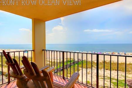 """Sun 'n Sea"" Touch the ocean close, 1BR Bunks/Pool - 奥兰治海滩(Orange Beach) - 公寓"