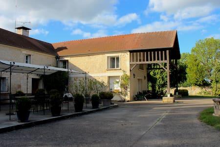 Superbe chambre dans ferme a 30 minutes de Paris - Boran-sur-Oise