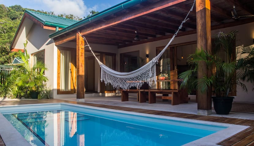 Sunset Villa 3 Bedroom Santa Teresa Wifi AC Pool - Puntarenas Province - Вилла