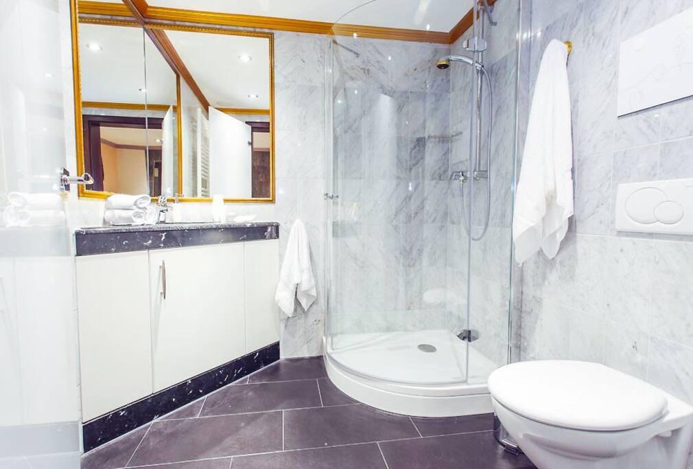 Apartment TOGO (38 m²) – für 2 Personen Badezimmer