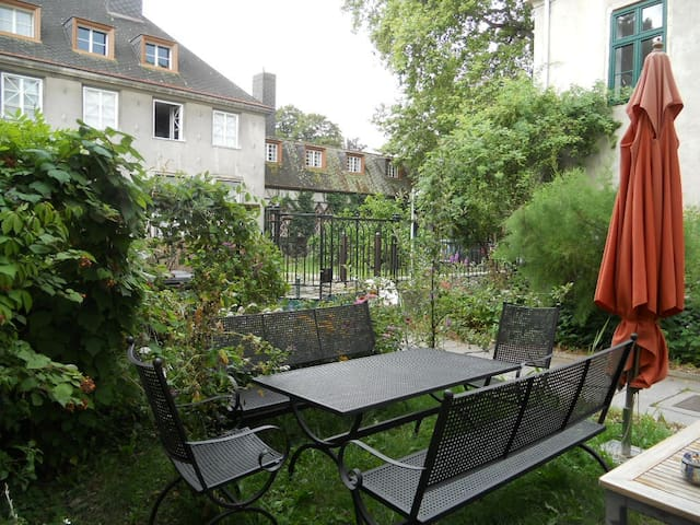 beautiful flair/flower garden - my home in Vienna