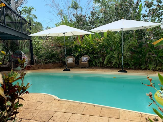 Rapid Creek Tropical House with Pool 4BR 3BATH