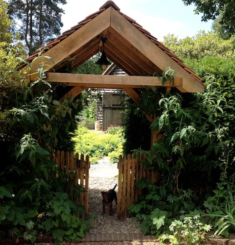 The Piggery, a cosy retreat in Ashdown Forest