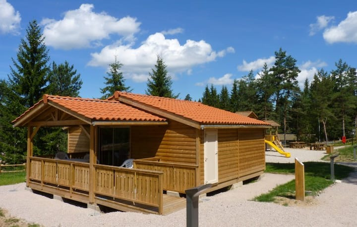 Special handicapped chalet, 41m2 for 4 people.