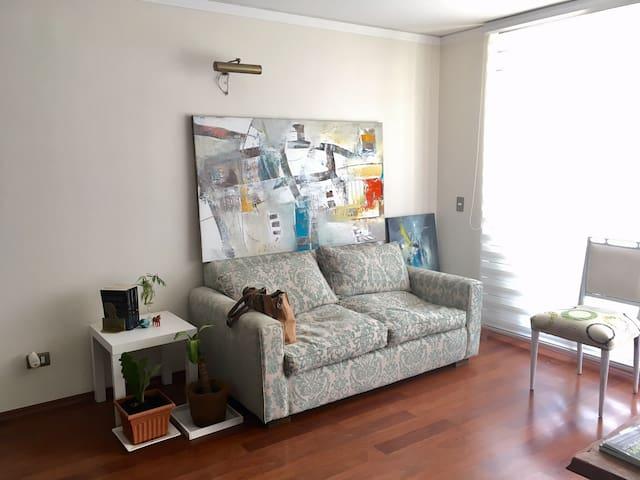 Moderno y acogedor departamento - Las Condes - Wohnung