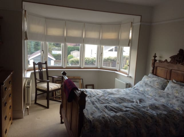 Central, bright, spacious room - Totnes - House