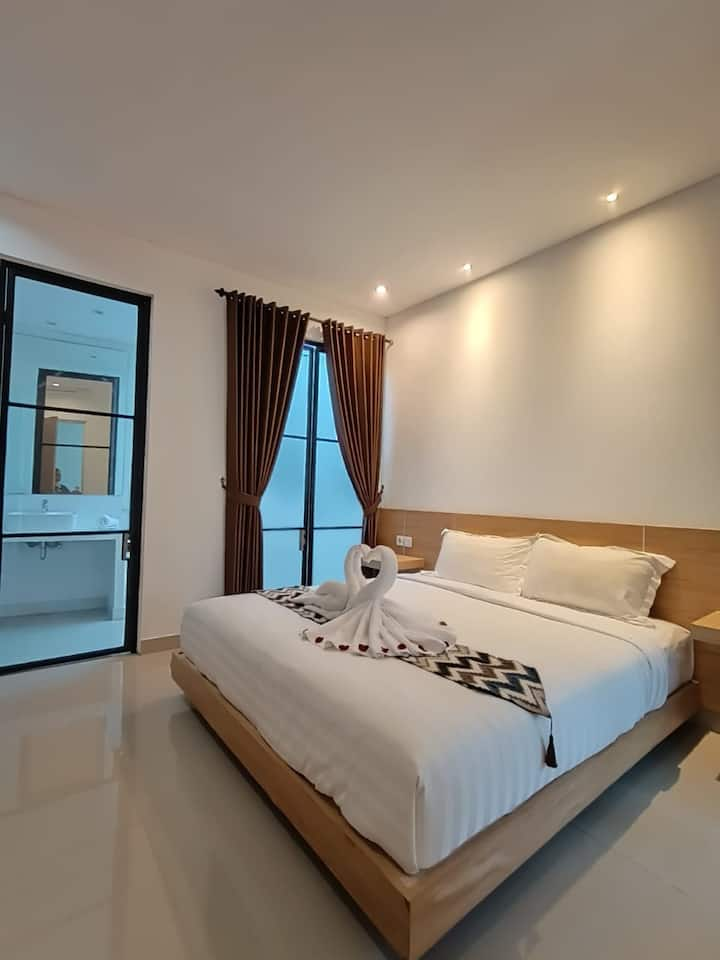 Mandala Bali Living Guest House with pool view