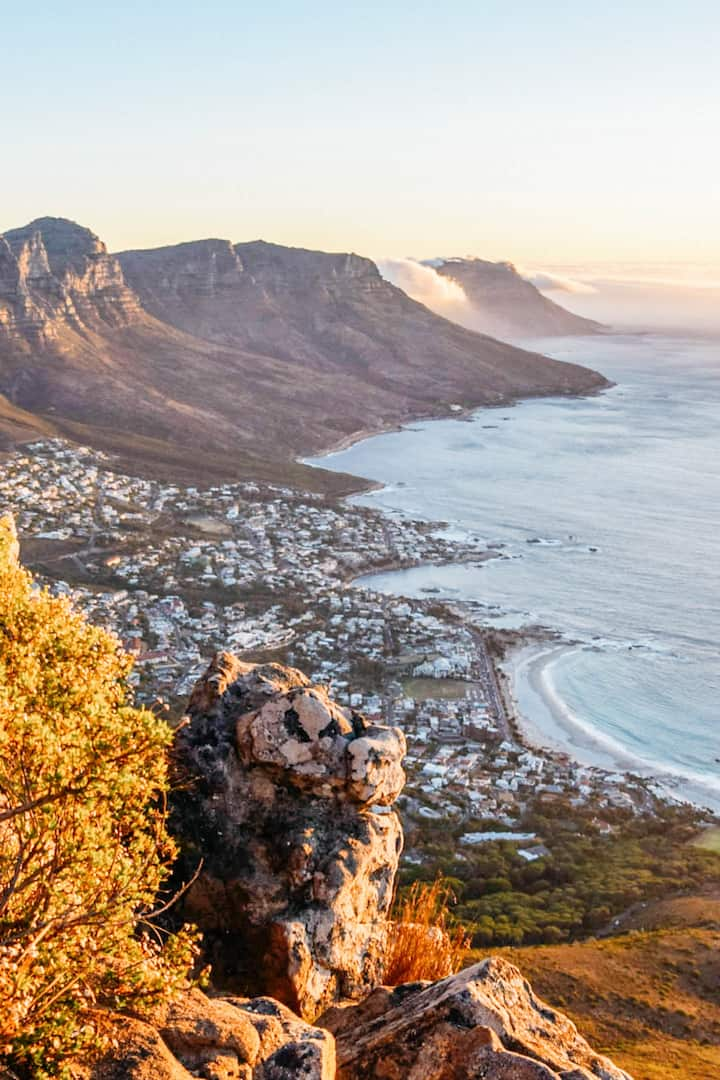 Lion's Head provides the best view of CT