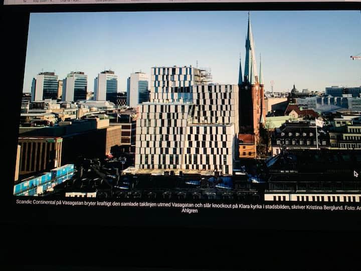 18:de Våningen Grand Lux Lägenhet magisk