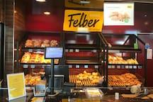 Bakery and Coffeeshop U2 Station Krieau - Bäcker