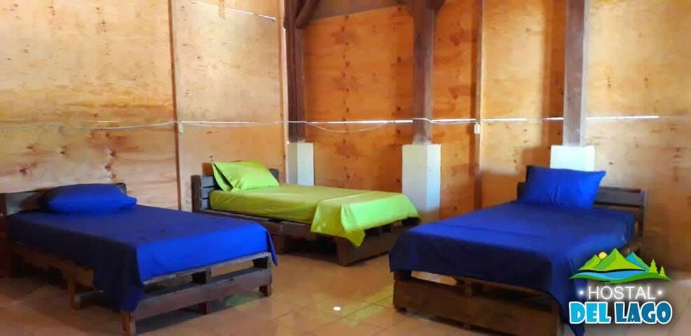 Apartamento vacacional para 5 en el Lago de Yojoa