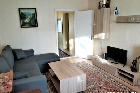 Ruudu 2 bedroom guest apartment with balcony