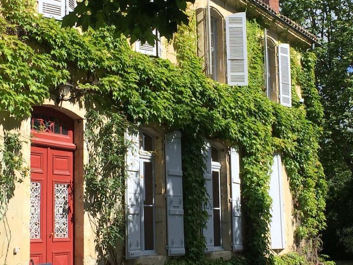 Gascogne: Grande maison de famille  XVIII eme