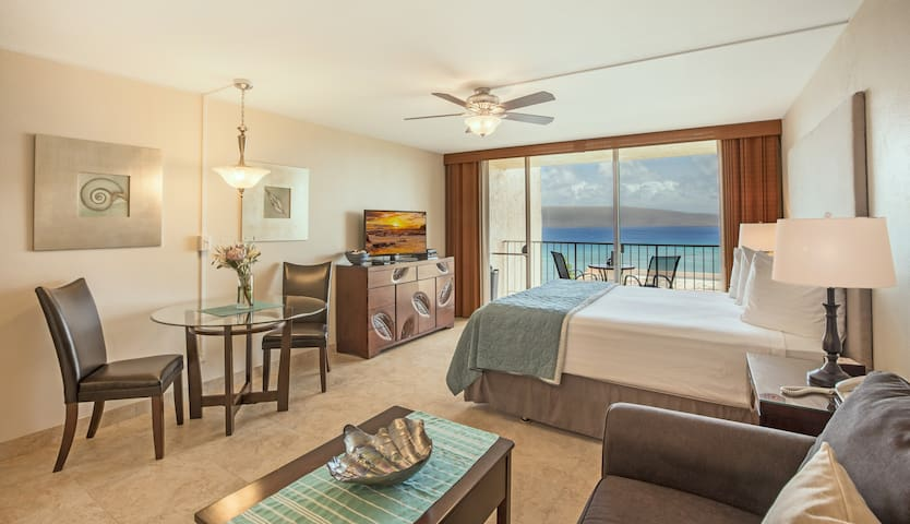 Beautiful Kahana Ocean View Studio - Lahaina - Condominio