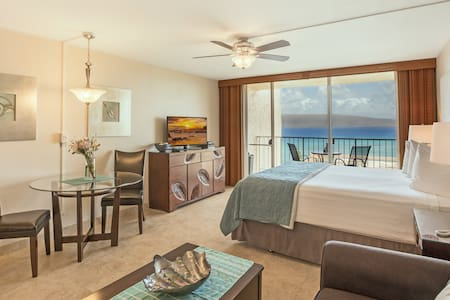Beautiful Kahana Ocean View Studio - Lahaina