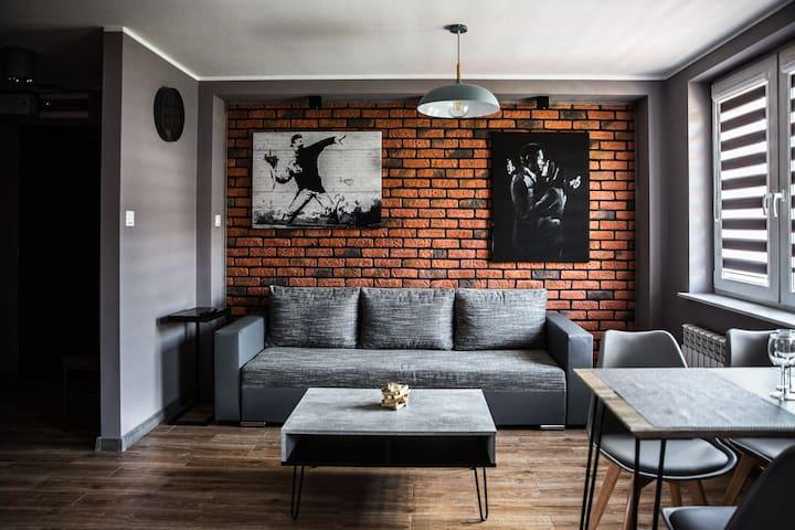 Apartament Chillout z sauną i pięknymi widokami