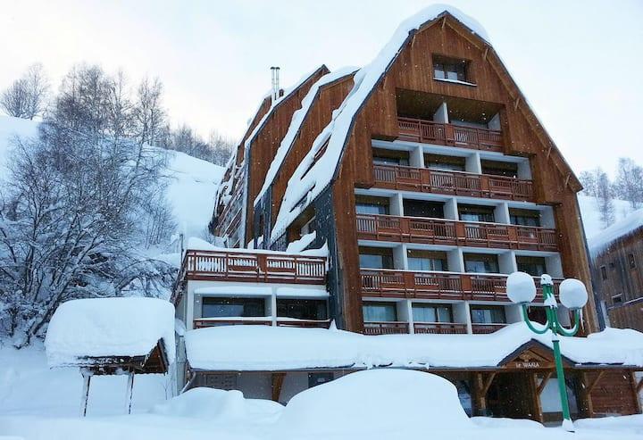 Les 2 Alpes - Centre Appartement cosy 4 personnes