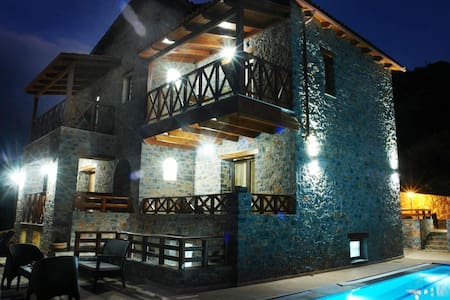 Stonebuilt Traditional Villa with Panoramic View A - Lasithi