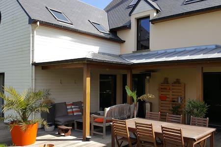 Maison d'archi Le Minihic/Rance 35 - Le Minihic-sur-Rance - Hus