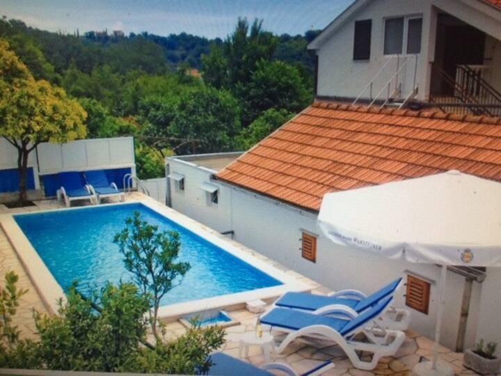 Villa with a garden