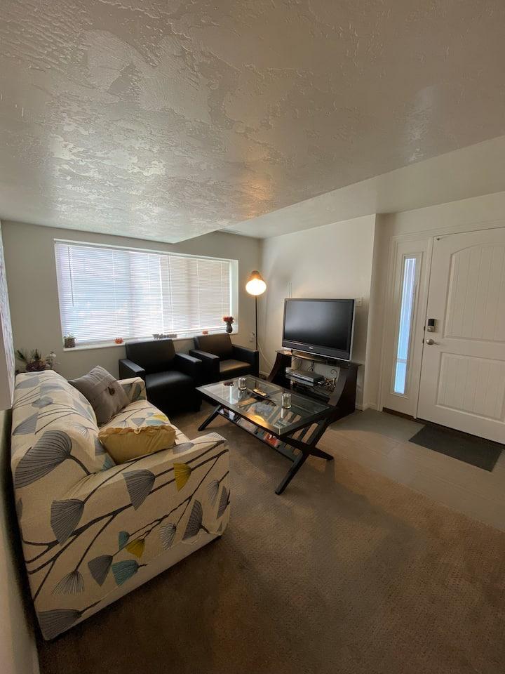 Updated East Bench Salt Lake Basement Apartment