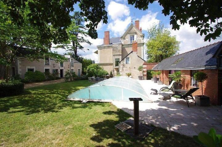 La demeure du goupil, B&B de charme Brissac-Quincé