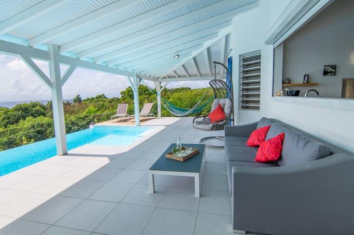 Villa 2 chambres, Vue mer, Piscine