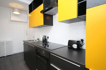 Stylish & Bright City Centre Apartment - Glasgow