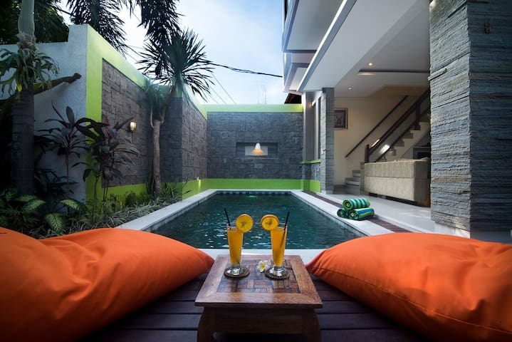 Cozy and Homey Private Pool Villa - Legian - Daire