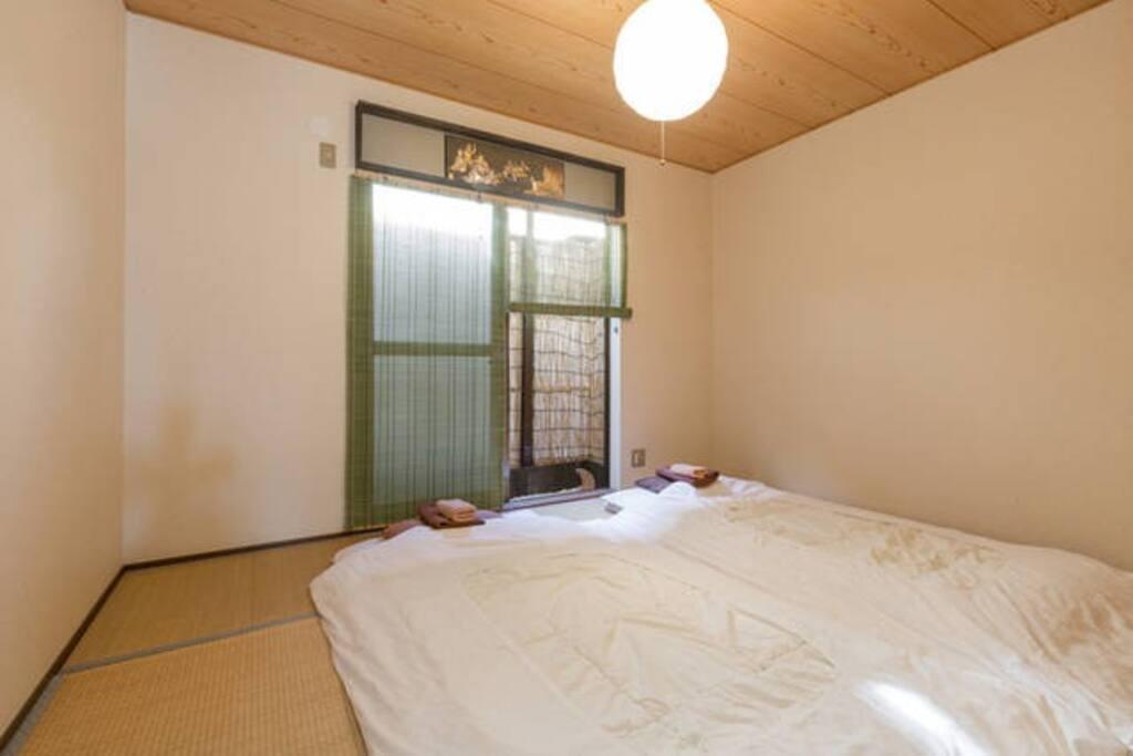 Tatami bed room.