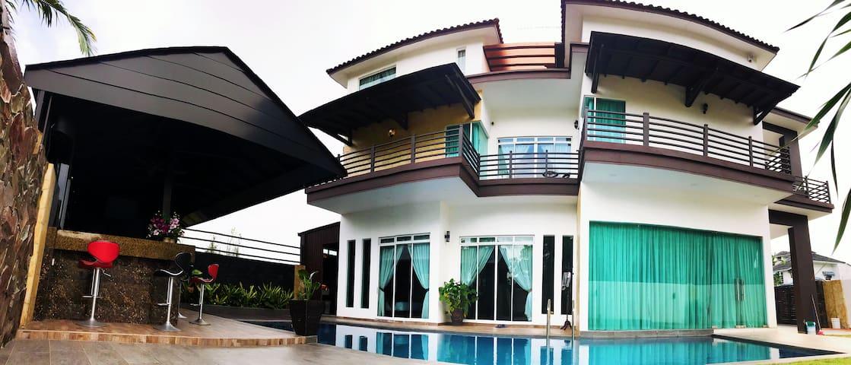 Lé Mountain Villa@Kluang