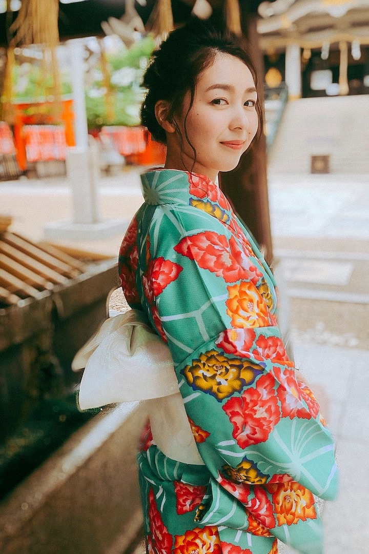 Take a look this beautiful KIMONO!