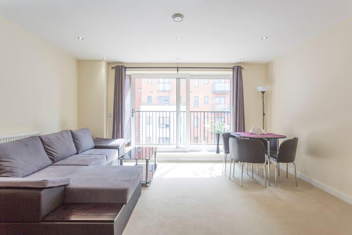Bright new flat in central location - Southampton - Apartament
