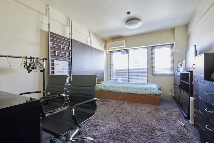 ShibuyaSta5min★Nice location ★For business trips